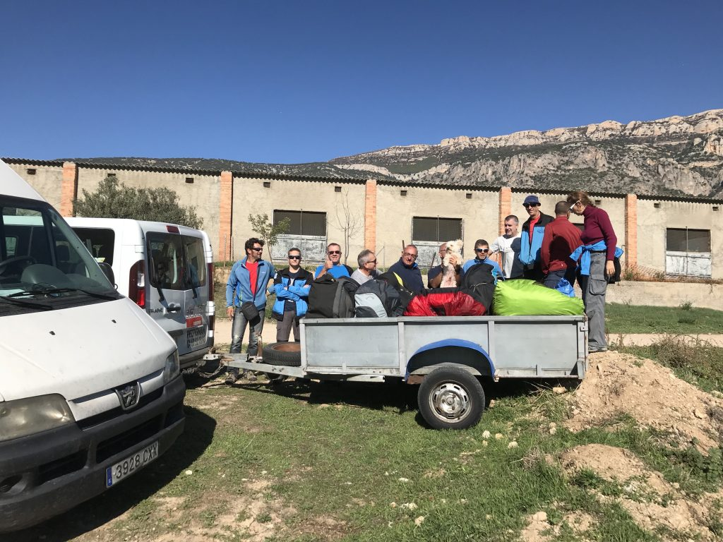 Sortie à Ager Espagne Toussaint 2017
